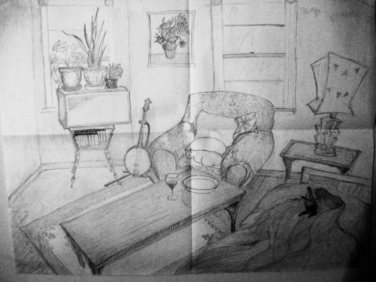 A. Interior Sketch 11x17